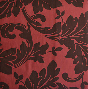 Aspen Leaves Red & Truffle Shower Curtains - The Chandler Collection