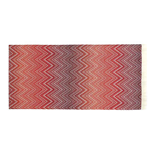 Missoni Timmy Red and Orange Throw Blanket - Color 591