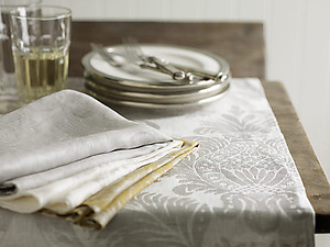 SDH Dorset Linen Sheets, Bedding & Table Linens - 4 Colors