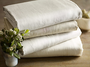 Linen Sateen Sheets & Bedding - Canterbury Sateen by SDH