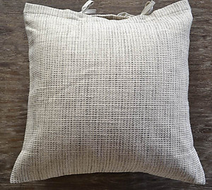 SDH Lino Charcoal Grey Throw Pillow