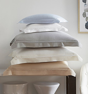 Sferra Finna Sheets & Bedding - Cotton Percale