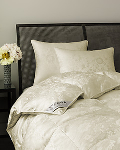 Sferra Snowdon Down Comforters and Pillows
