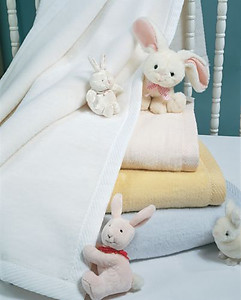 St. Moritz Baby Blankets by Sferra, 4 Colors & Monogramming
