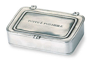 Tutto e possibile Pewter Box by Match Pewter