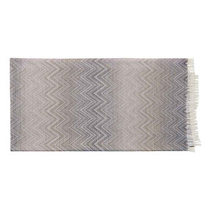 Missoni Timmy Brown and Tan Throw Blanket - Color 481