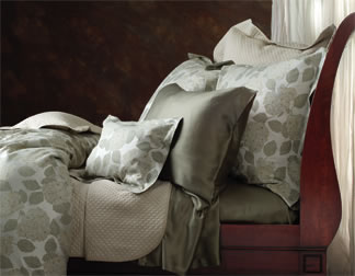 SDH Hydrangea Sage Green Luxury Bedding and Sheets