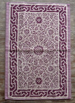 Leitner Moya Tip Towel Bordeaux Purple