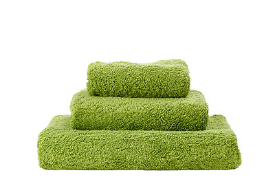Abyss Super Pile Towels Apple Green Color 165