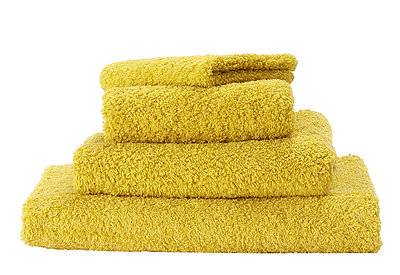 Abyss Super Pile Towels Yellow Safran Color 850