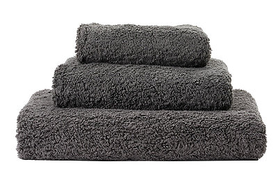 Abyss Super Pile Towels Dark Grey Gris Color 920