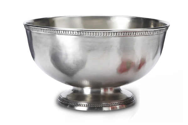 Italian Pewter Punch Bowl - Match Pewter item A799.5