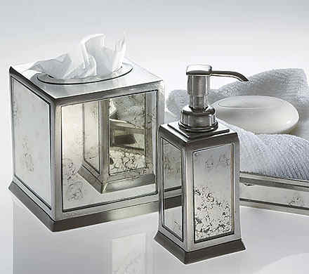 Labrazel Italian Pewter Bath Accessories - Antico
