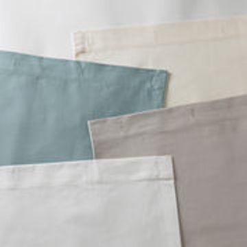 Resist Cotton Water Repellent Shower Curtains 4 Colors