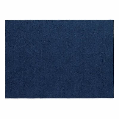 Bodrum Presto Navy Blue Rectangle Easy Care Placemats - Set of 4