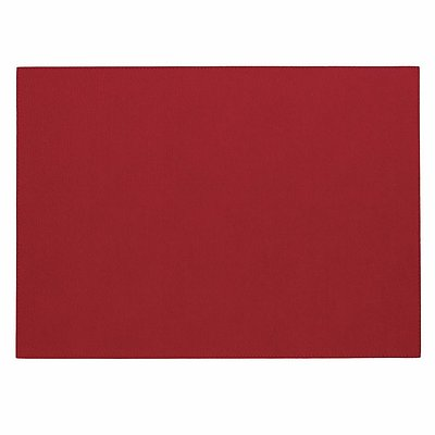 Bodrum Presto Red Rectangle Easy Care Placemats - Set of 4