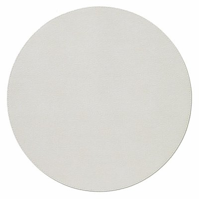 Bodrum Presto Antique White Round Easy Care Placemats - Set of 4