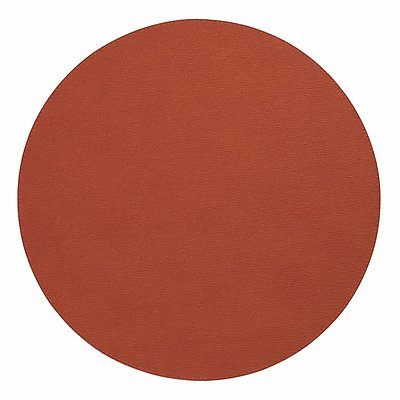 Bodrum Presto Paprika Round Easy Care Placemats - Set of 4