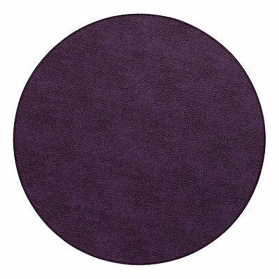 Bodrum Presto Plum Purple Round Easy Care Placemats - Set of 4
