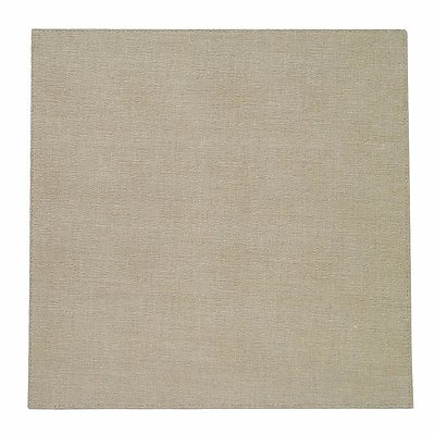 Bodrum Presto Oatmeal Square Easy Care Placemats - Set of 4
