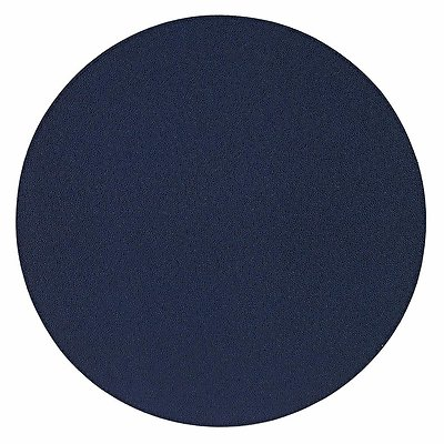 Bodrum Skate Navy Blue Round Easy Care Placemats - Set of 4