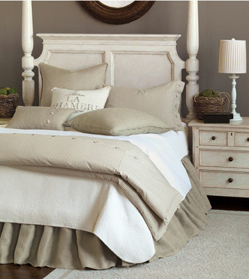 Burlap Bed Skirts & Dust Ruffles