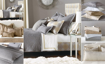Cotton Matelasse Damask Pattern Bedding - De Medici Sandrine