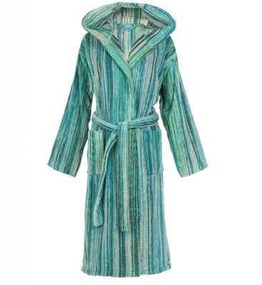 Elaiva GreenGrass Hooded Bath Robe