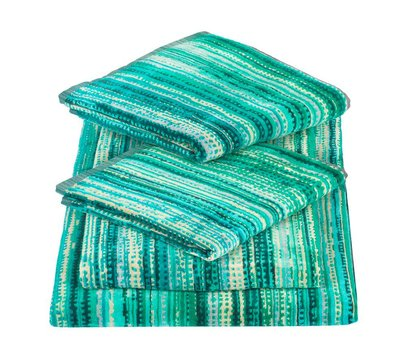 Elaiva Green Grass Towels