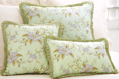 Silk Throw Pillows by Pine Cone Hill - Marie Sprout