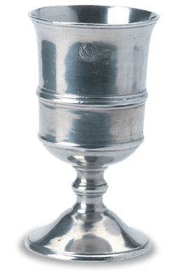 Italian Pewter Drinking Goblet.  Arno Goblet Match Pewter, item 851.0