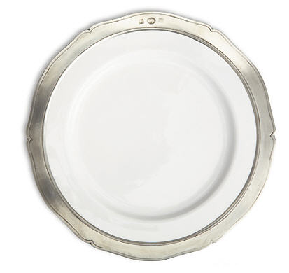 Match Pewter Viviana Salad or Dessert Plates
