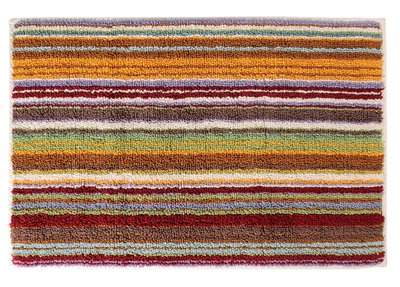 ee10dbd8c5ff Missoni Home Jazel 159 Orange & Green Striped Bath Rug