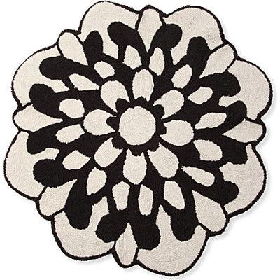 Missoni Home Otil Black and White Floral Bath Mat