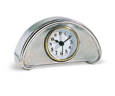 Luna Pewter Alarm Clock by Match Pewter