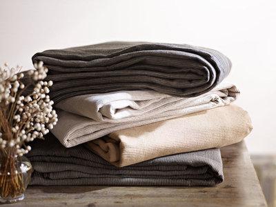SDH Recco Linen Cotton Boutis Bedding U0026 Table Linens   2 Colors