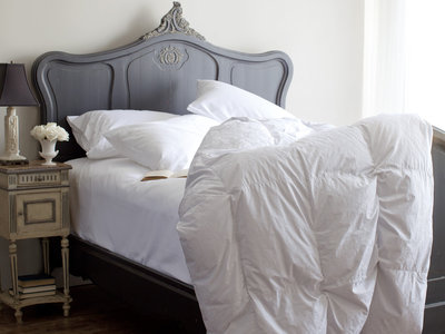 Eiderdown Comforter - Cotton Covered by St. Geneve