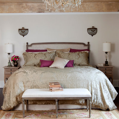 Soft Textured Silk Linen Damask Bedding - St Geneve Fabiana