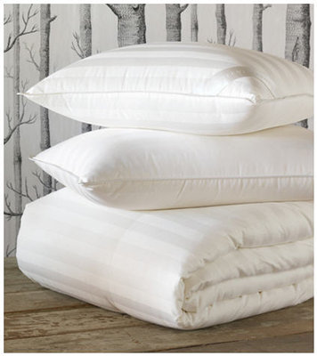 de Medici Rhapsody Luxe Striped Down Pillows & Comforters
